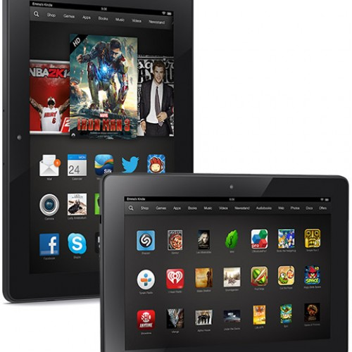 Amazon introduces Kindle Fire HDX, new Kindle Fire HD