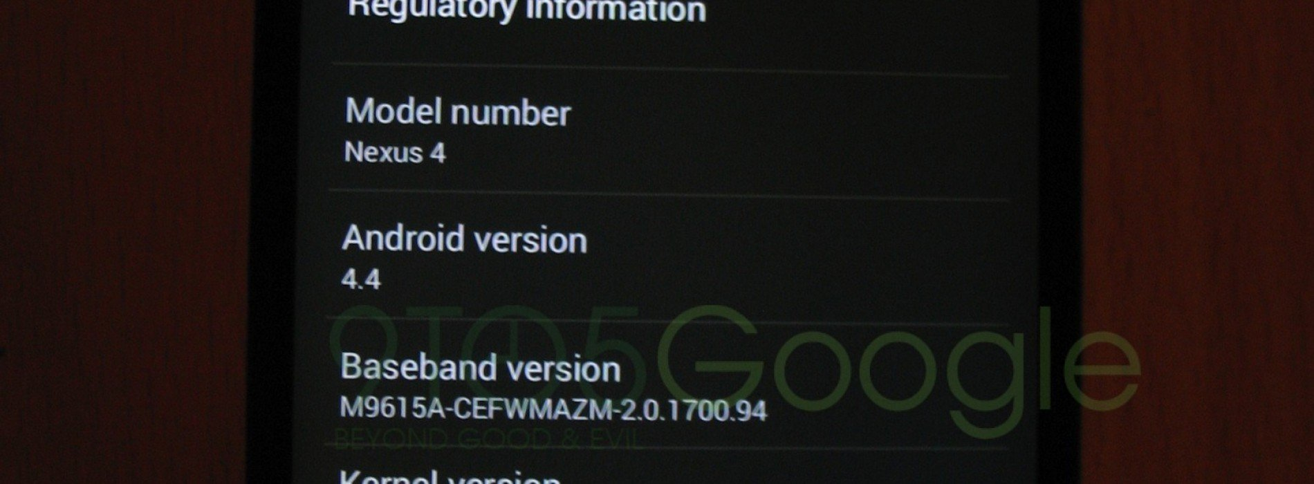 Alleged Android 4.4 KitKat screens emerge over weekend