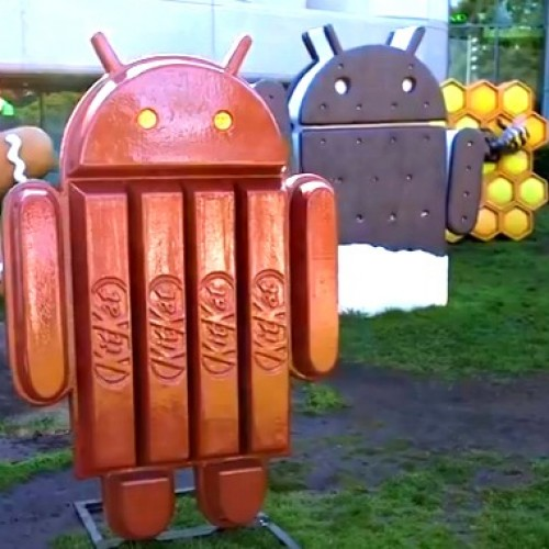 Android 4.4 KRS74B build found in Chrome bug tracker