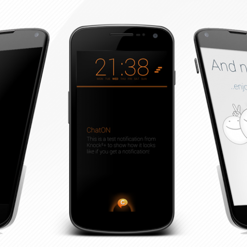 Knock²+ V2 delivers smart, gorgeous notifications to your Android