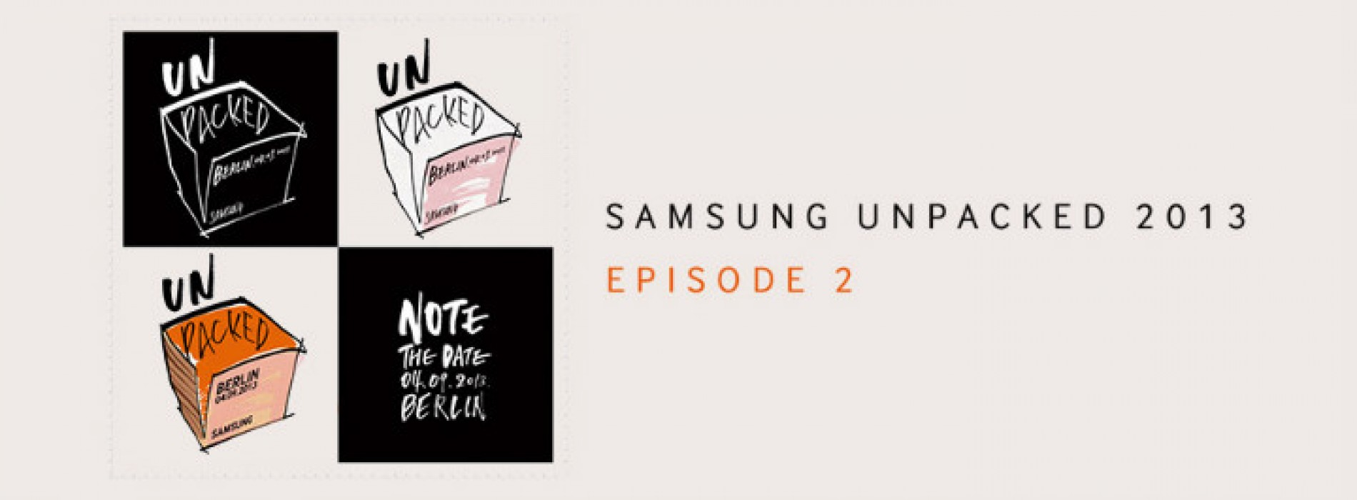 Watch Samsung's unveiling of the Galaxy Note 3 and Galaxy Gear