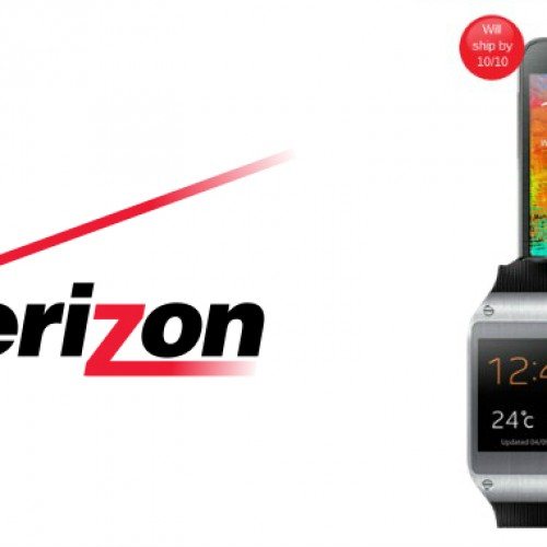 Verizon opens up pre-orders for Galaxy Gear, Galaxy Note 3
