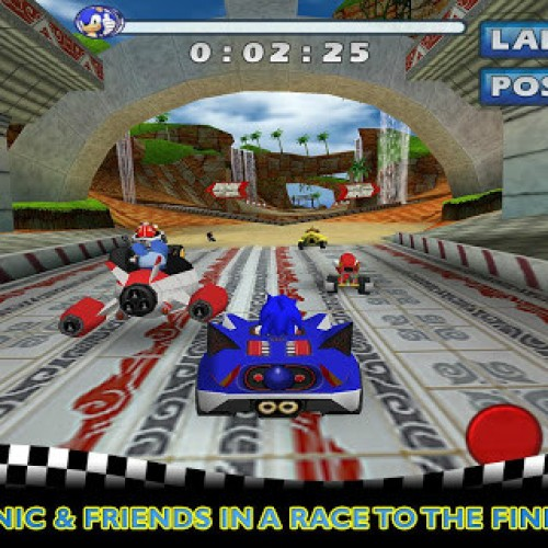 Sonic & SEGA All-Stars Racing dashes onto Android