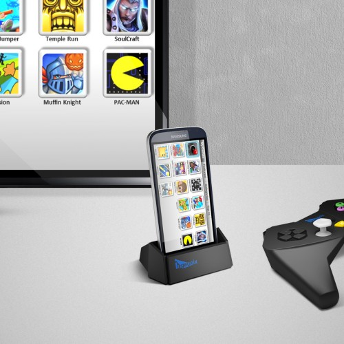 Ingeo turns your Android phone into a game console