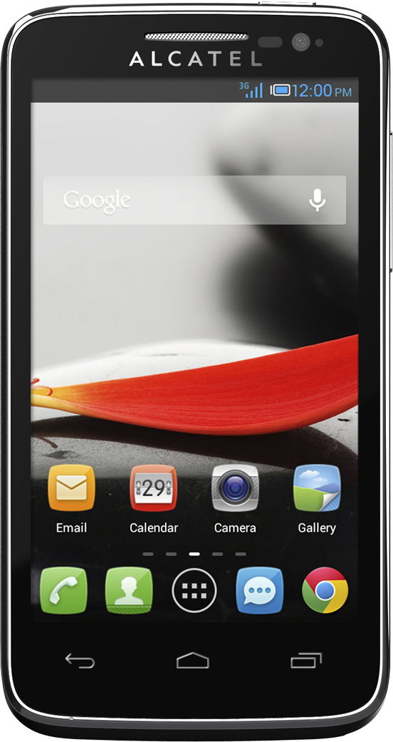 Alcatel ONE TOUCH Evolve (front)