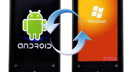 Android-to-windows-transition