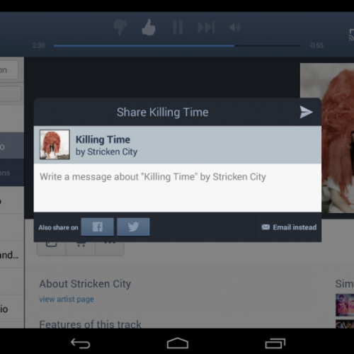 Pandora update brings tablet version to market