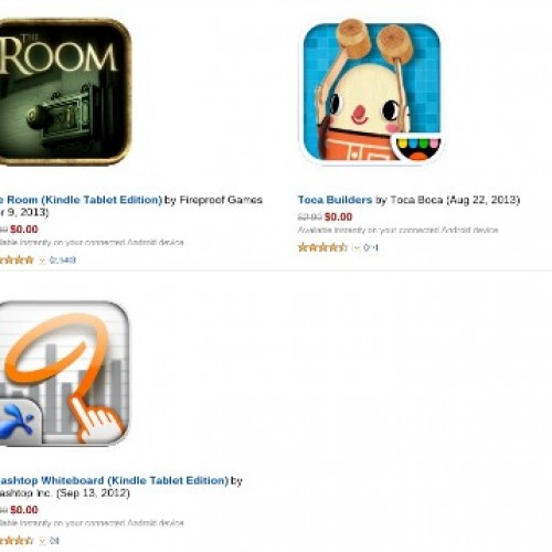 Amazon offering six titles as part of Free App promo for October 25