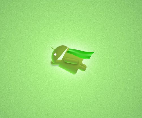 android-flying