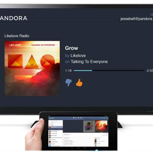 Pandora gains Chromecast support