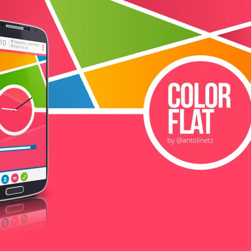 Get This Look: Color flat