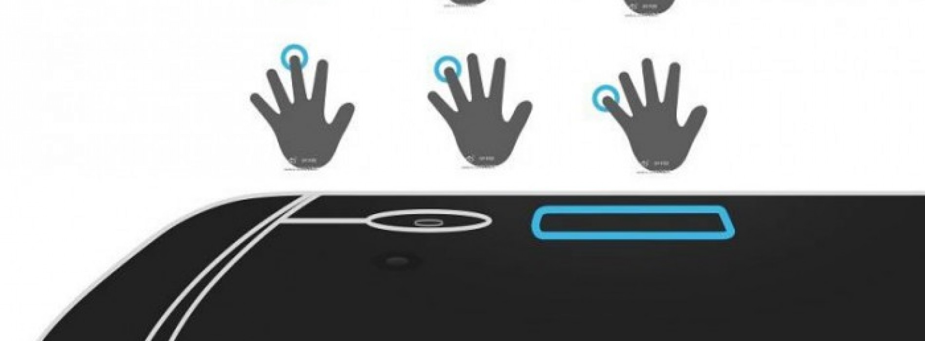 HTC One Max fingerprint sensor is not just for security?