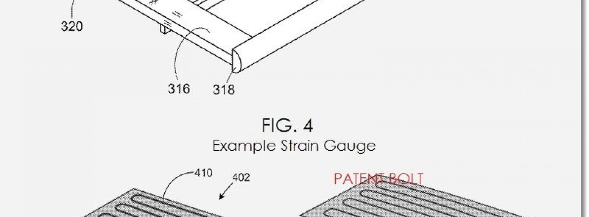 Google patents tip shearing, sliding, and squeezing for future smartphones