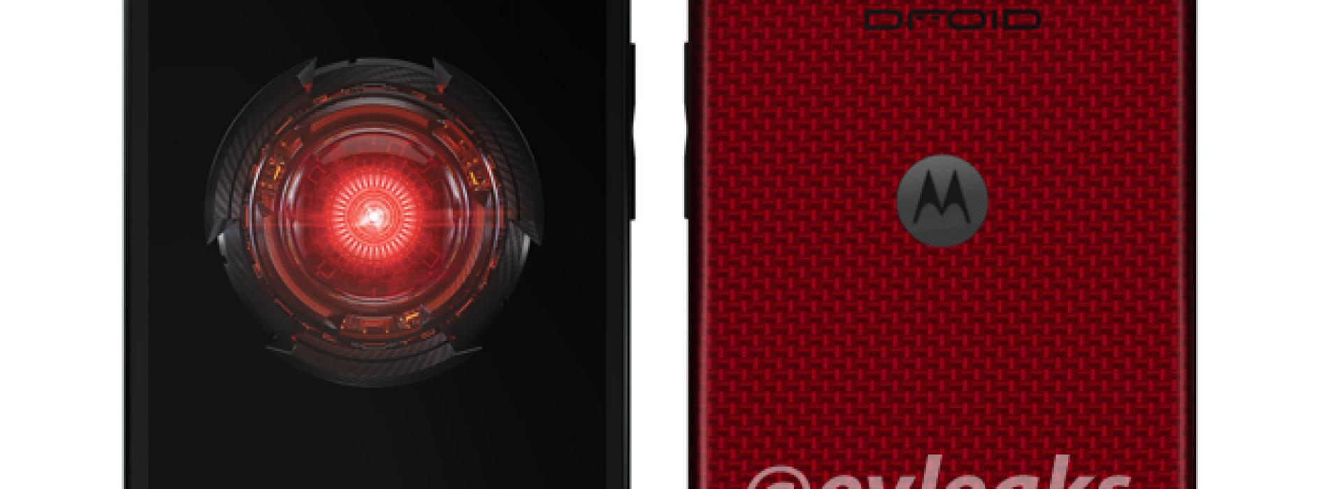 Motorola Droid Mini pops up dressed in red