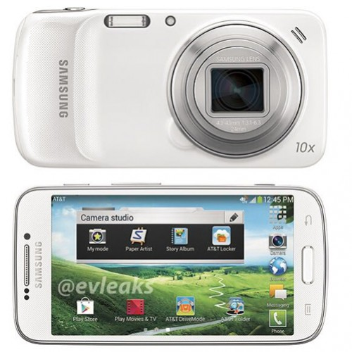 Samsung Galaxy S4 Zoom spied with AT&T branding