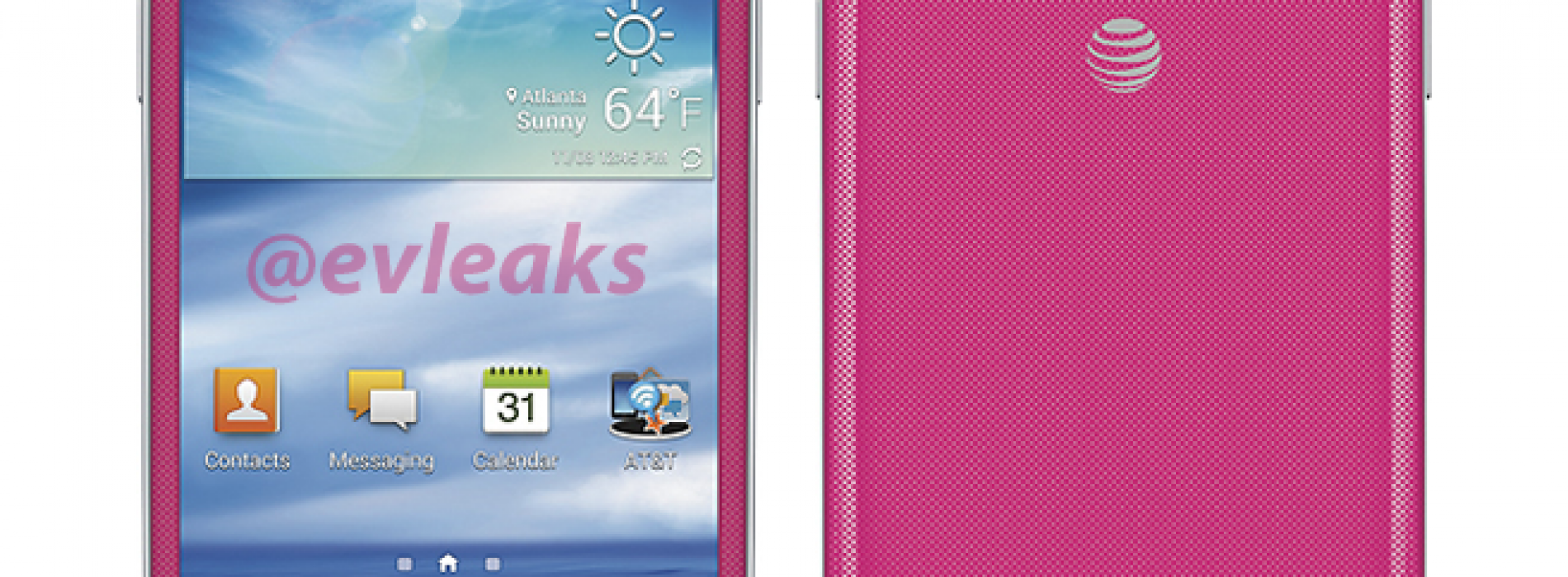 AT&T may soon introduce pink Galaxy S4 Mini