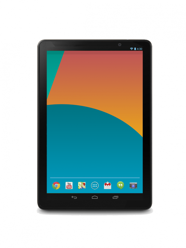 Nexus 10 (2013) Press Render