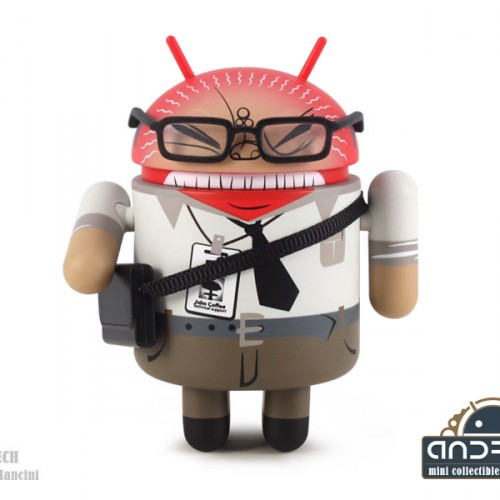 Dead Zebra's Series 04 Android collectibles on sale Friday, November 29