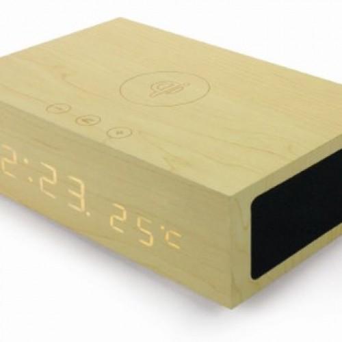 EyeCandis SoundBot SB1000 Bluetooth Qi NFC Alarm Clock Station review