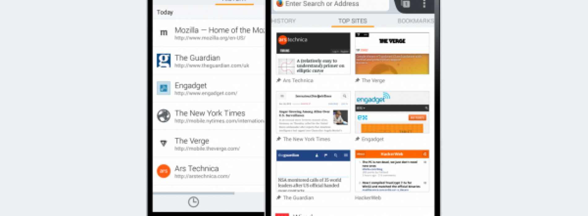 "Firefox for Android Beta gets new ""Home"" design"