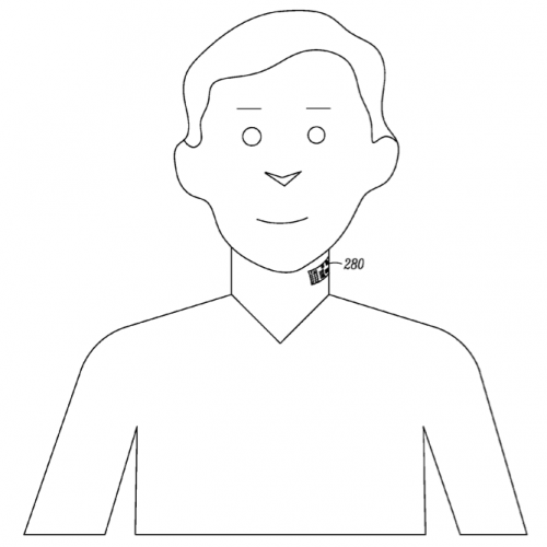 Motorola thinks you want a smart tattoo on your throat, files patent