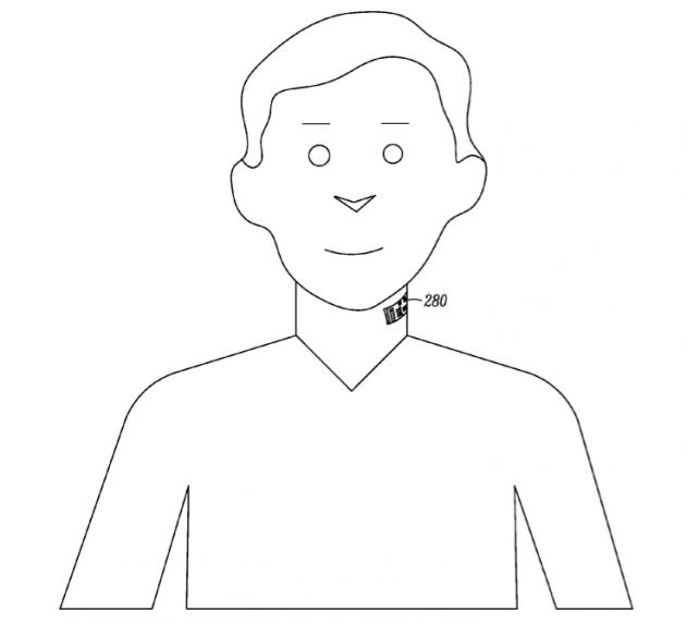 Motorola Patent Tattoo Mic