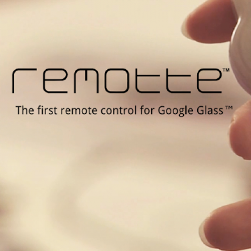 Remotte, the first remote control for Google Glass, seeking Kickstarter funding