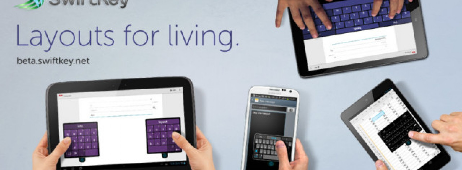 SwiftKey updates Android app with new 'Layouts for Living', changes the game for mobile keyboards