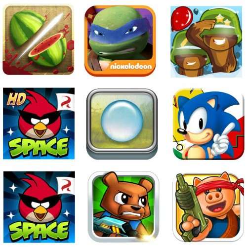 Amazon offering 9 free games including Sonic, Angry Birds, Fruit Ninja, Bloons TD 5