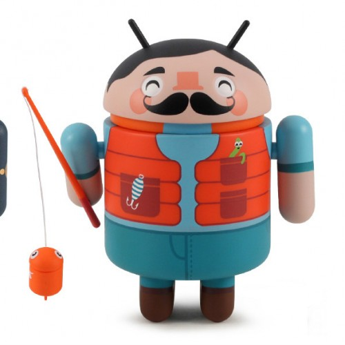 Dead Zebra teasing Series 04 Android collectibles