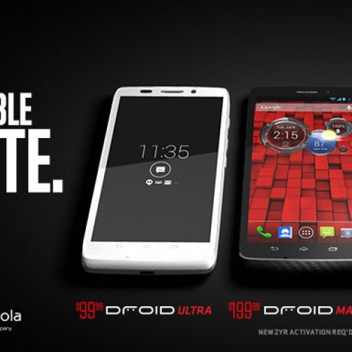 Verizon now offering white Droid Ultra, Droid Mini