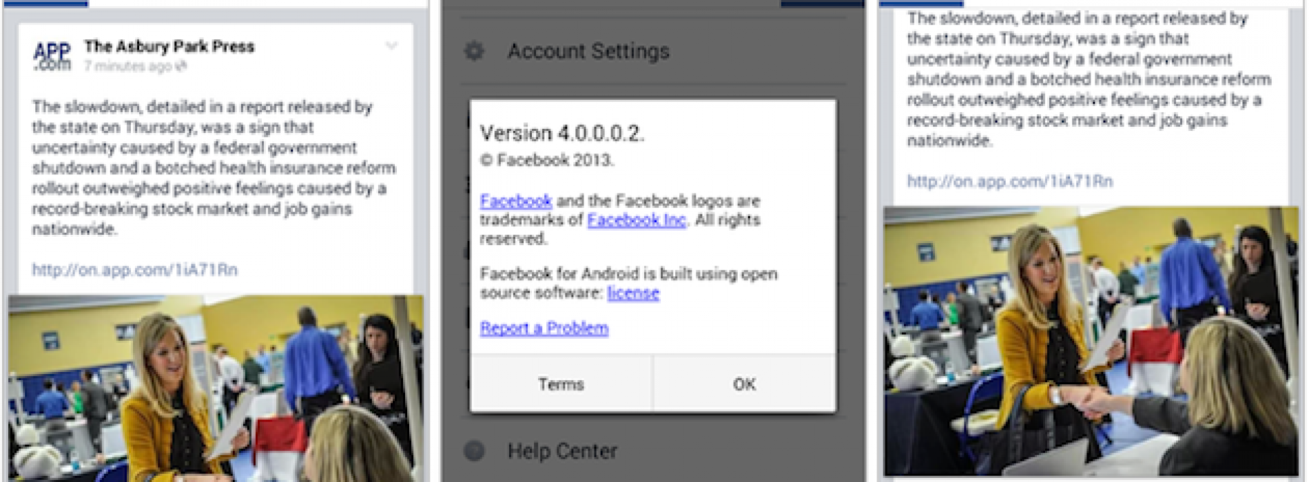 Facebook 4.0 app for Android to usher in new UI