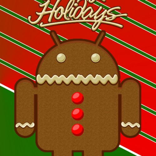 Show your holiday spirit with these Android-themed greeting cards!