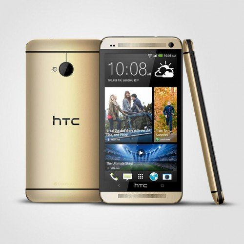 Gold HTC One intro'd for European crowd
