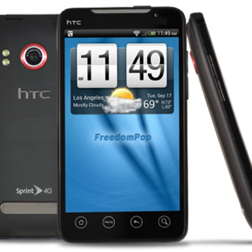 FreedomPop debuts 'Bring your own phone' plan; now offering HTC EVO 4G