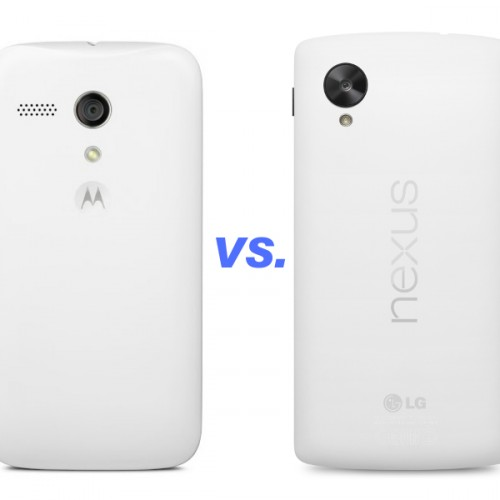 11 key differences between the Moto G and the Nexus 5