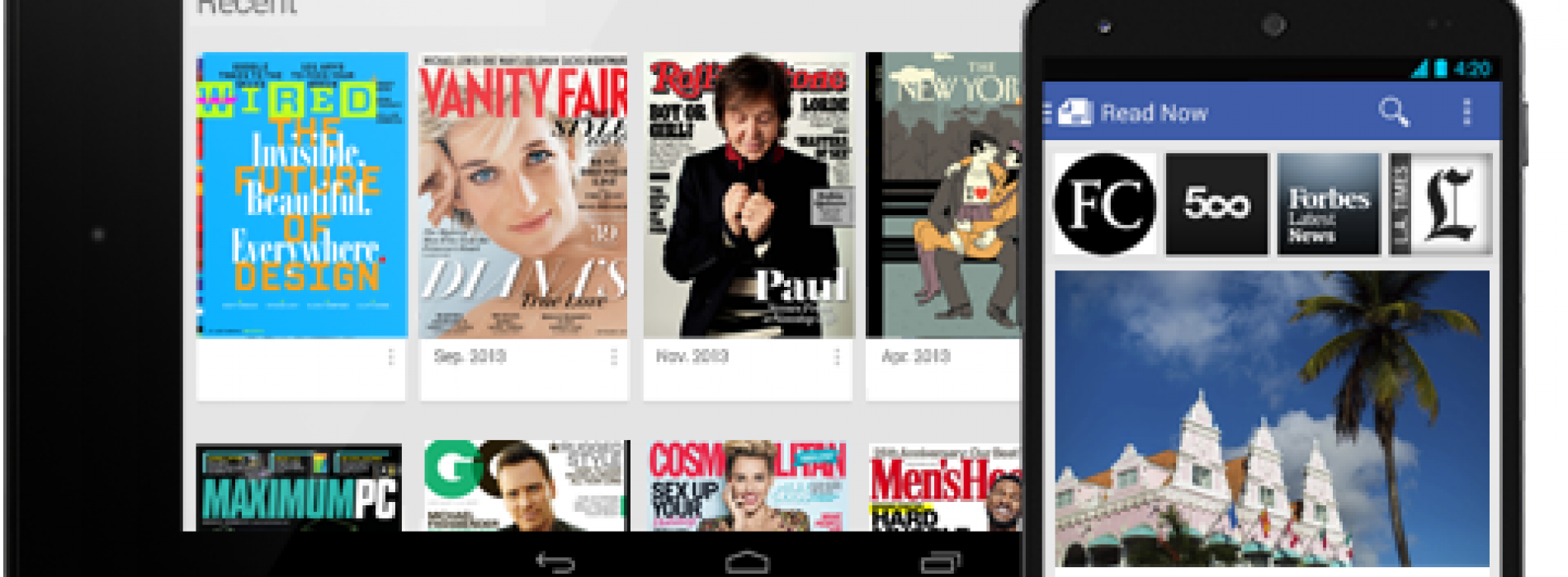 Google folds Currents and Magazines into new Newsstand app
