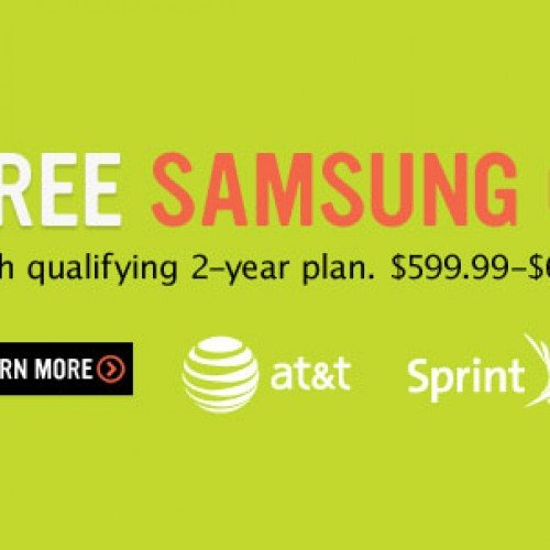 RadioShack offering Samsung Galaxy S3 free with contract