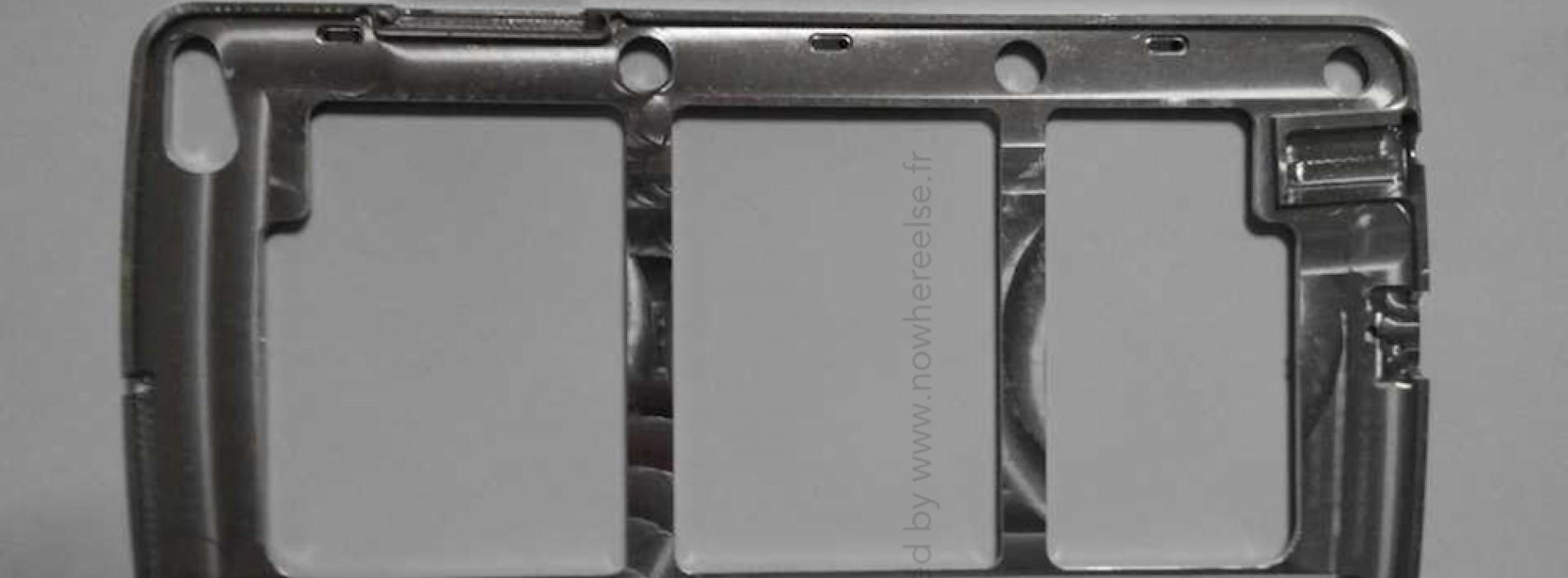 Leaked Samsung chassis could belong to Galaxy S5 or Galaxy F