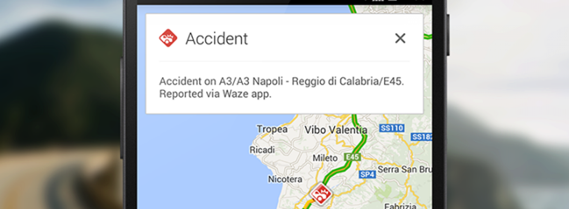 Google Maps adds Waze incidents in 46 new countries & territories