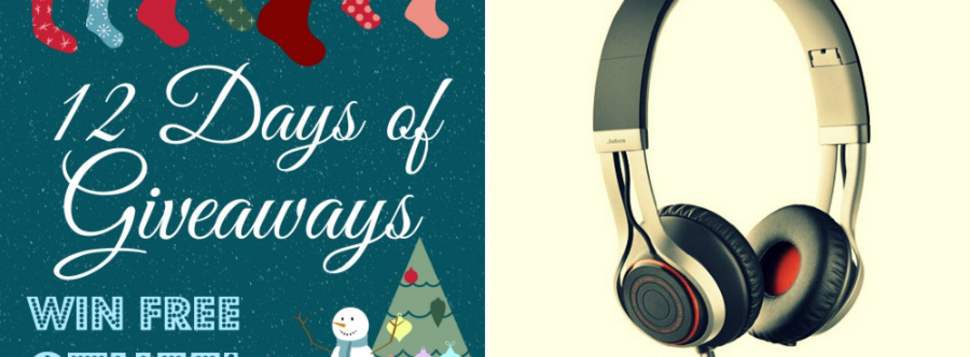 12 Days of Giveaways: Win Jabra REVO Corded stereo headphones (UPDATED)