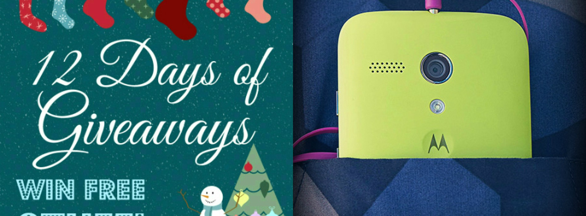 Win a Motorola Moto G [12 Days of Giveaways]