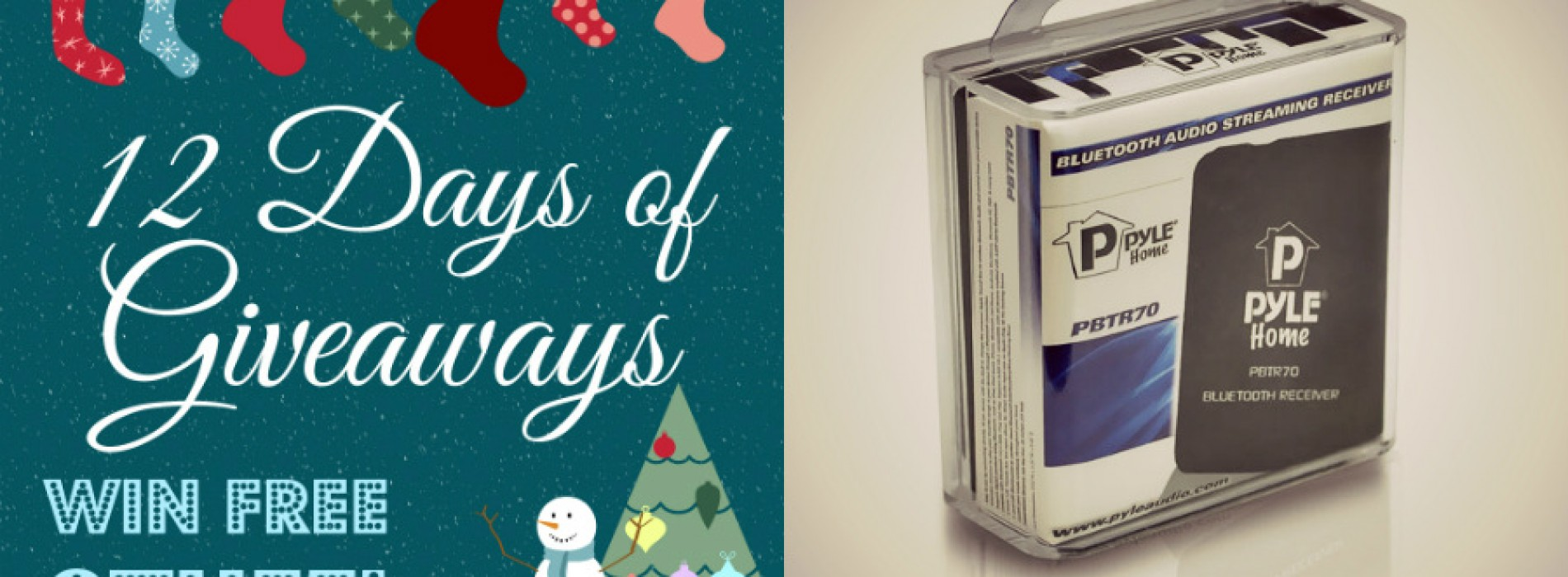 12 Days of Giveaways: Pyle Audio BlueReach (UPDATED)