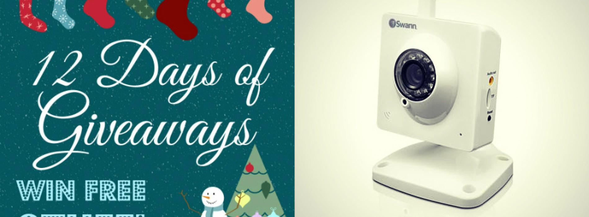 12 Days of Giveaways: Win a SwannEye HD Plug & Play (DAY 5) (UPDATED)