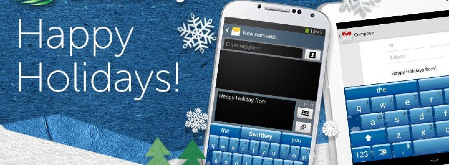 Swiftkey debuts Ice theme for keyboard