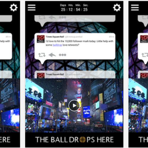 Ring in the new year from your phone with the Times Square Official Ball App