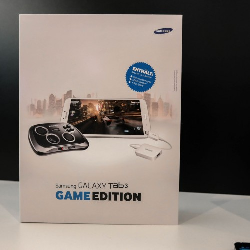 Samsung to offer Galaxy Tab 3 Game Edition