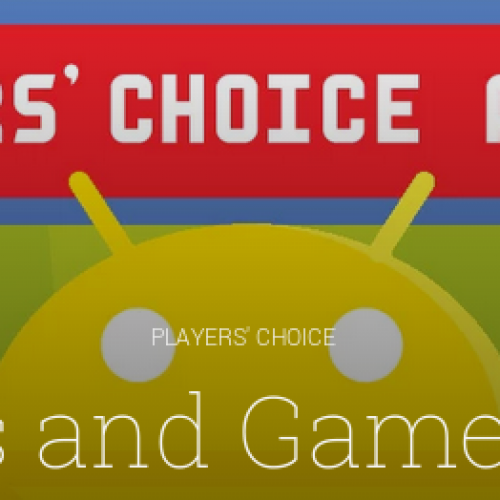 Google announces winners of the first annual 'Players' Choice Awards'