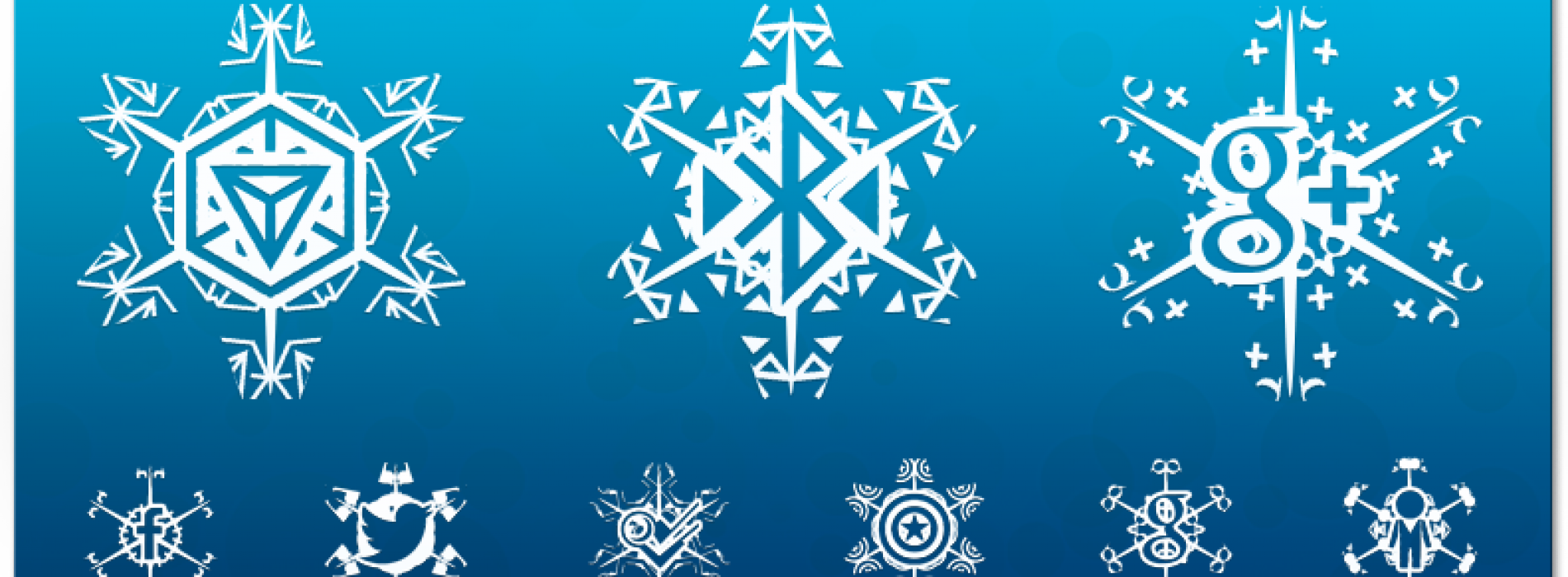 Get This Look: Snowflake icons