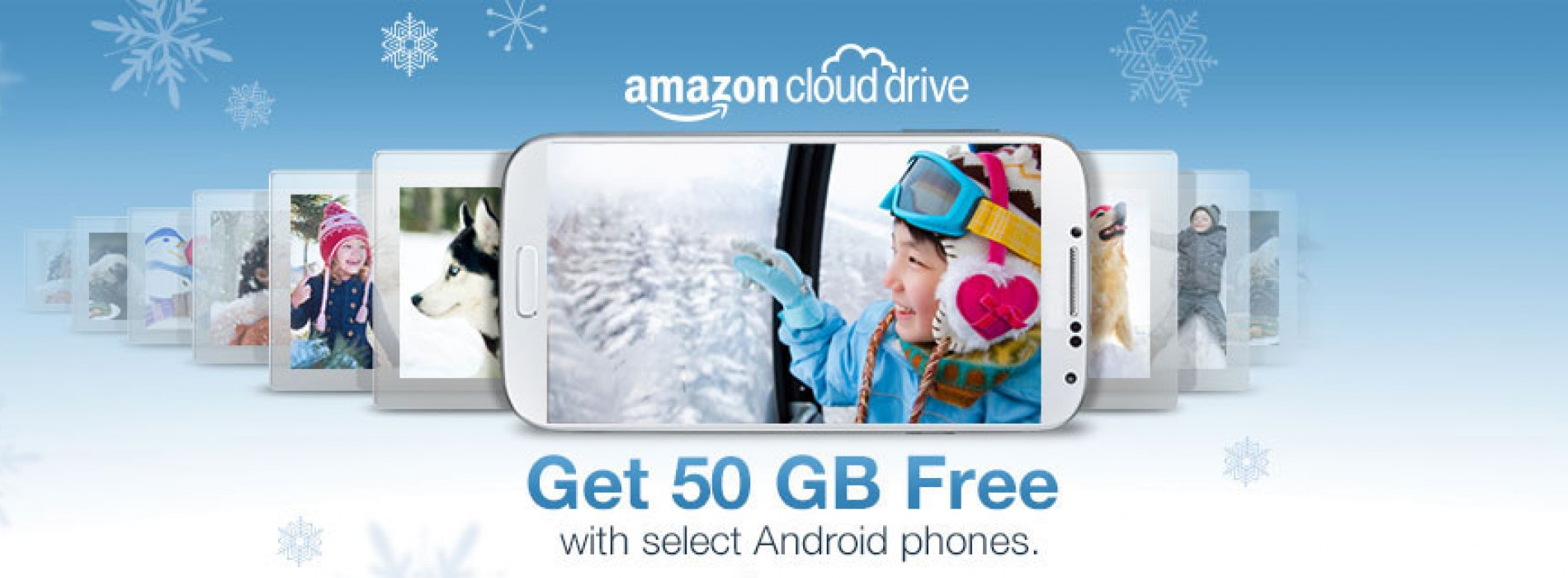 Amazon offering 50GB Cloud Drive with purchase of select Androids